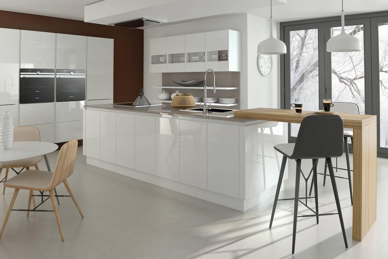 Mirror Gloss White Harper Kitchens